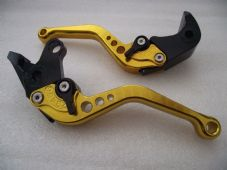 Suzuki B-KING (08-11), CNC levers short gold/black adjusters, F35/S31